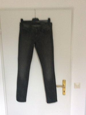 Graue straight Jeans von 7for all Mankind