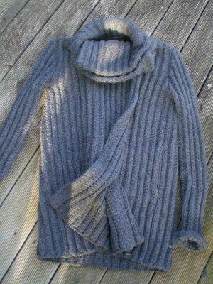 Dorothee Schumacher Veste tricotée en grosses mailles gris