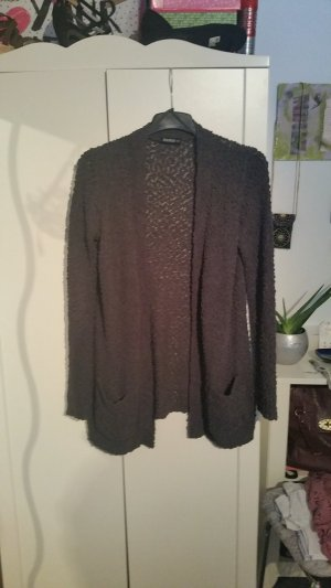 Graue Strickjacke in 40
