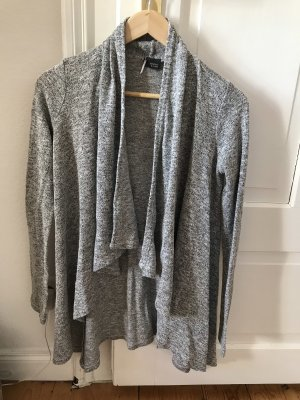 Graue Strickjacke lang sparkle & fade urban outfitters S