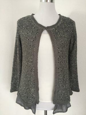 Graue Strickjacke marke Zara