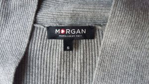Graue Strickjacke von Morgan