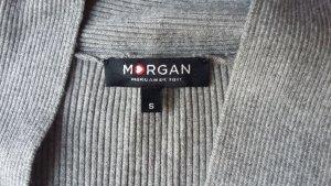 graue Strickjacke von Morgan