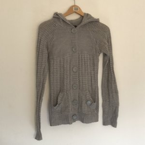 Graue Strickjacke von Only