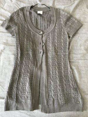s.Oliver Short Sleeve Knitted Jacket grey