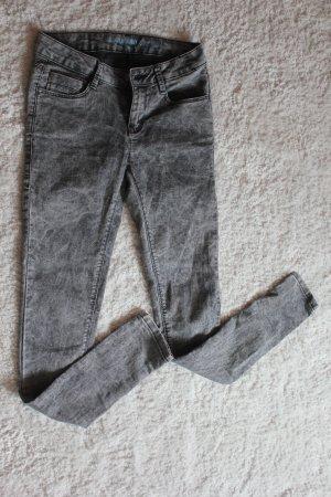 Graue Super Skinny Jeans