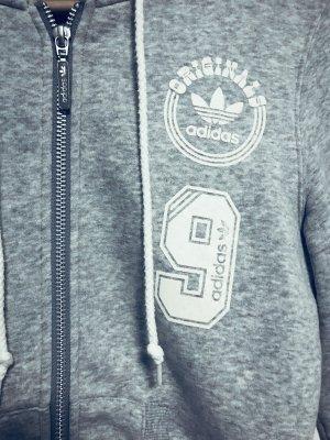 Adidas Originals Giacca fitness grigio chiaro