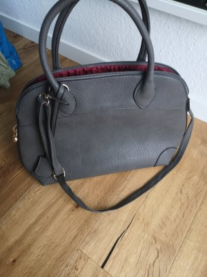 graue Tasche aus Italien