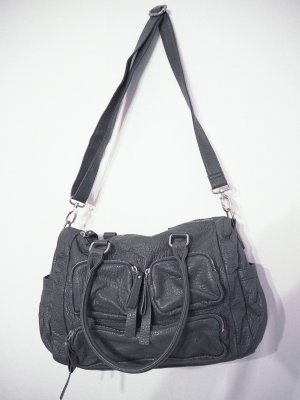 Fritzi aus preußen Shoulder Bag light grey-grey imitation leather