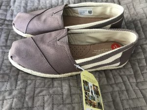 Toms Sailing Shoes grey-cream