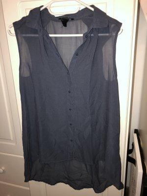 Graue transparente Bluse von H&M