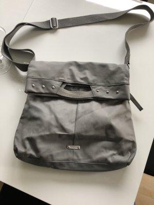 Graue Umhängetasche, Handtasche