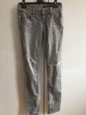 Graue used look Jeans von Black Orchid Los Angeles 26