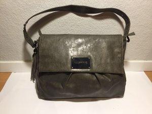 Graue Valentino Leder-Handtasche