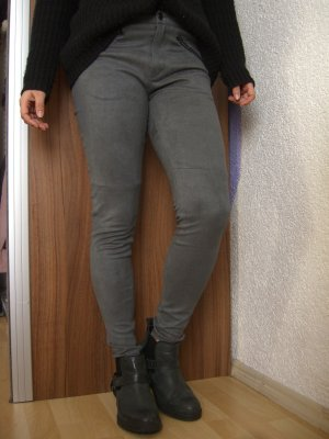 graue weiche Review Ankle Jeggings