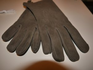 Leren handschoenen veelkleurig Suede
