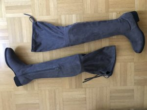 Görtz 17 Overknees black-grey