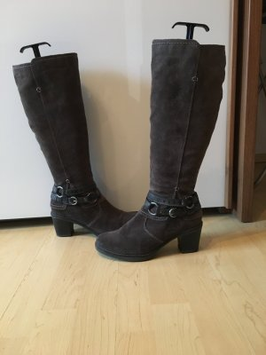Graue Willederstiefel von Jana Fashion (Tamaris)