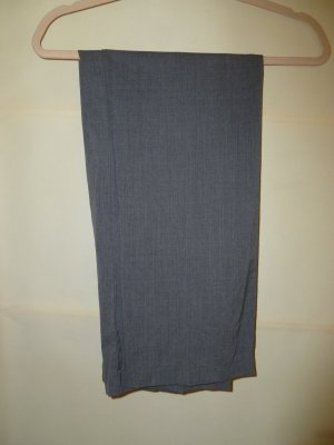Toni Dress Woolen Trousers silver-colored new wool