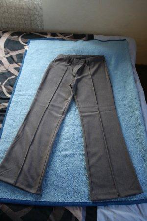 Pantalon en laine gris foncé coton