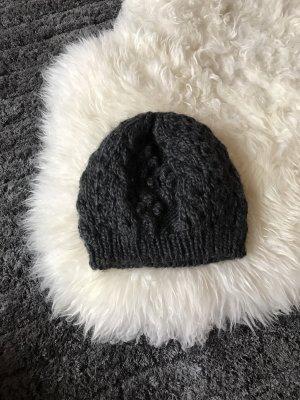 Graue Wollmütze von H&M