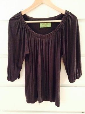 Graue Zara Bluse Größe M