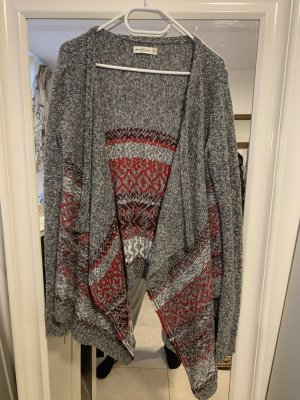 Grauer Abercrombie Fitch Cardigan