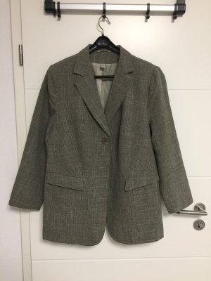 Blazer de esmoquin gris oscuro-gris