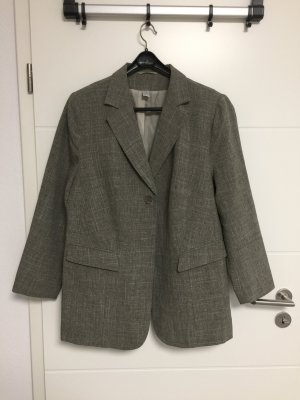 Tuxedo Blazer dark grey-grey