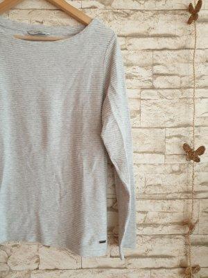 Grauer Basic Pullover Tchibo