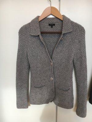 Grauer Blazer aus Cashmere/Wolle