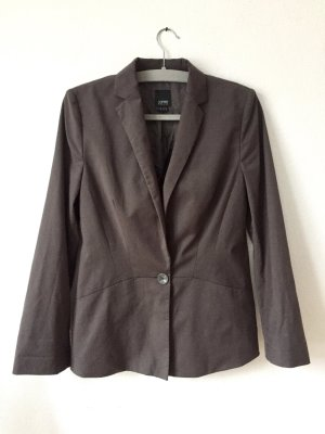 esprit collection Blazer de esmoquin gris Viscosa
