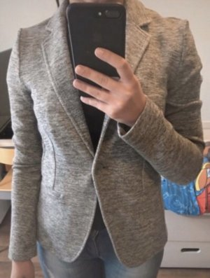 Esprit Knitted Blazer silver-colored