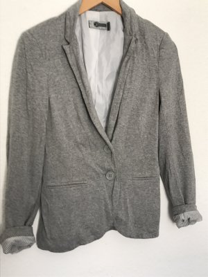 Stradivarius Blazer sweat gris clair