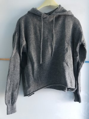 Brandy & Melville Hooded Sweater grey