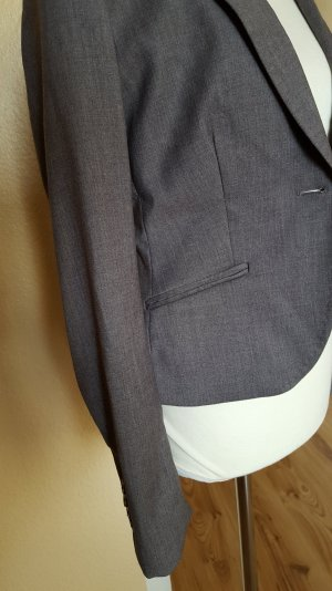 grauer Business-Blazer