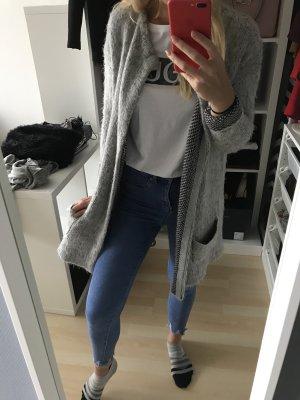 Vero Moda Cappotto mezza stagione grigio