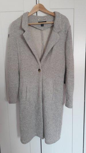 Grauer Cardigan Mantel von Amisu Größe 40 grau