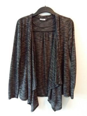 grauer Cardigan Only