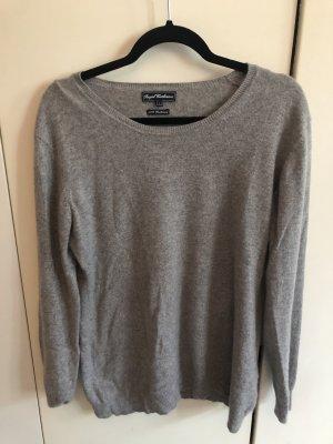 Grauer Cashmere-Pullover von Royal Cashmere