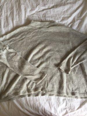 Grauer Crop Pullover ..