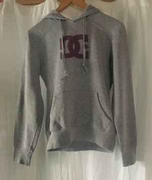 DC Shoes Hooded Sweater light grey-bordeaux
