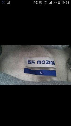 grauer dicker Mazine Pullover