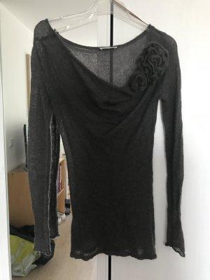 Promod Pullover all'uncinetto grigio scuro-grigio