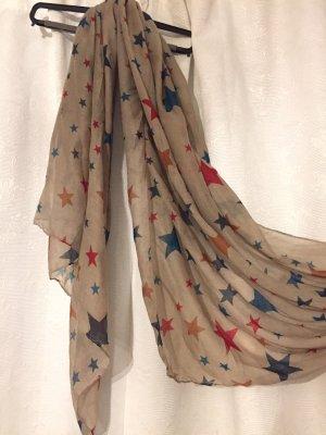 Grauer dünner Schal