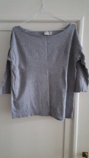 Esprit Oversized trui grijs Katoen