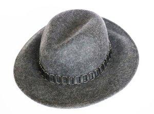 Aldo Sombrero de fieltro gris oscuro Lana