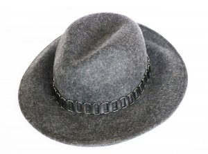 Aldo Felt Hat dark grey wool