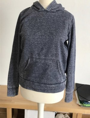 Forever 21 Jersey con capucha gris oscuro-gris