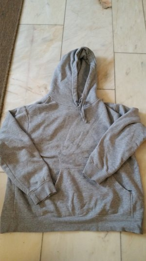H&M Hooded Sweater light grey-grey